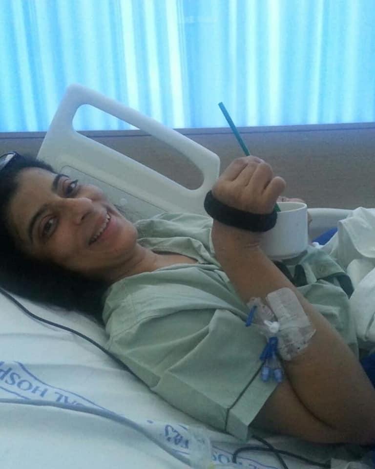 Vandana overcoming thyroid cancer